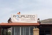 our new Aqualized diving center / το νέο μας καταδυτικό κέντρο Aqualized