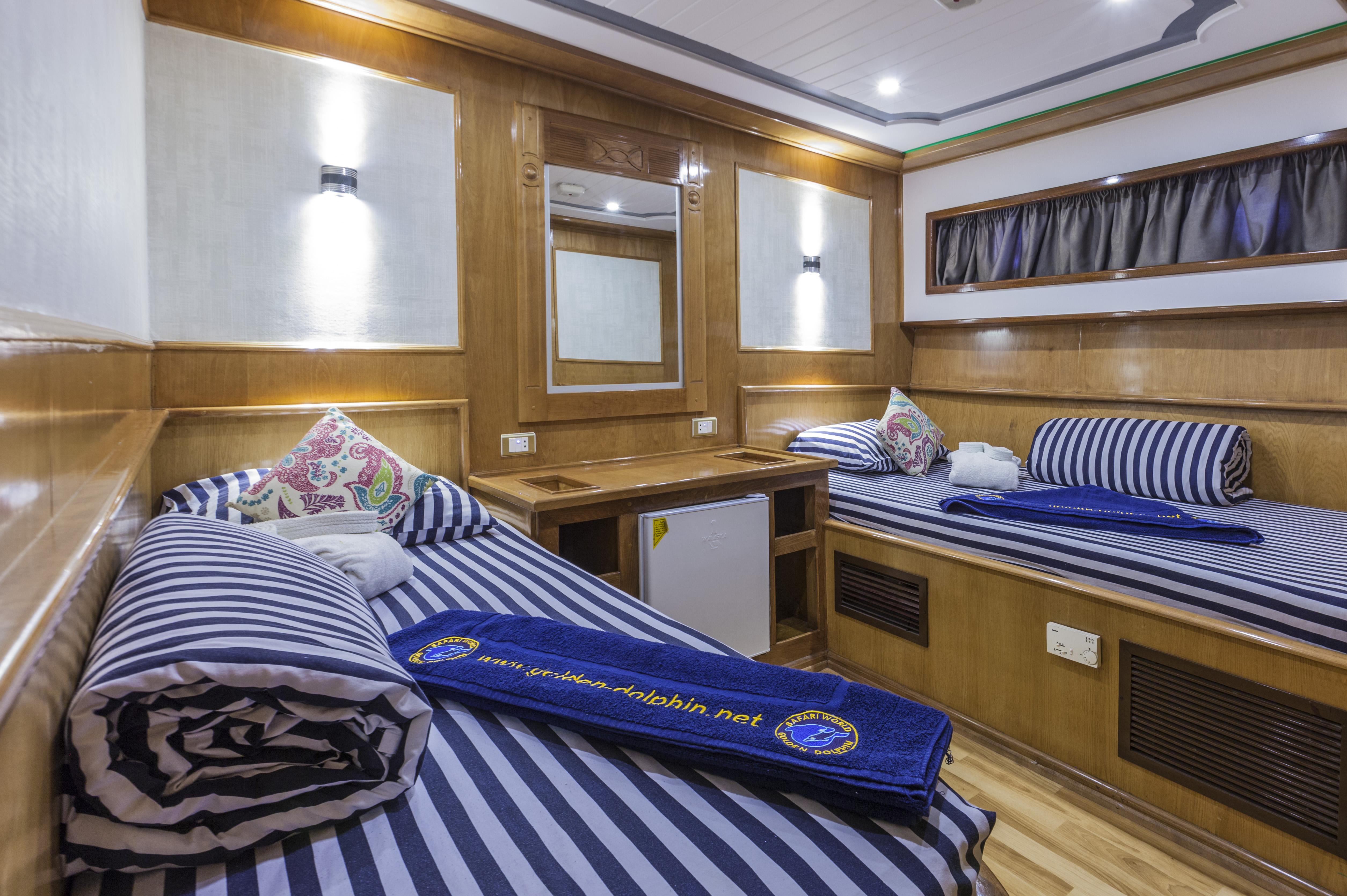 Golden DolphinII cabin