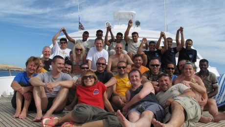 Scuba diving liveaboard red sea experience