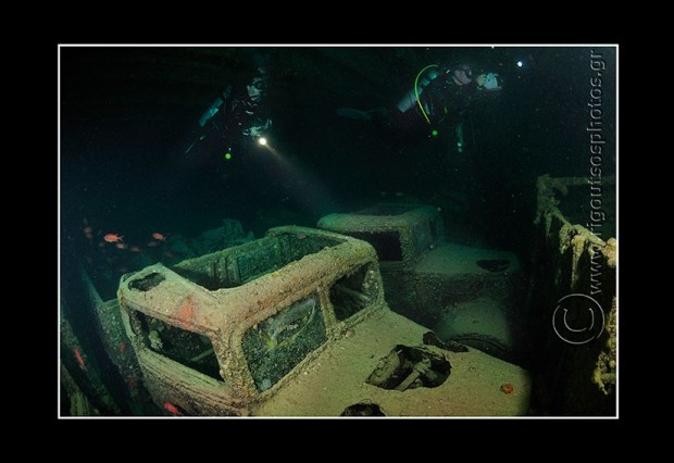 dive the most famous shipwreck, thistlegorm