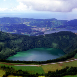 Landscape-in-Sao-Miguel-island