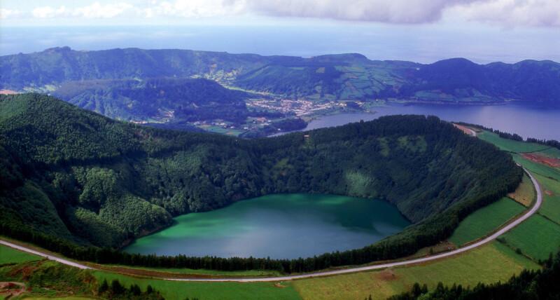 Landscape-in-Sao-Miguel-island